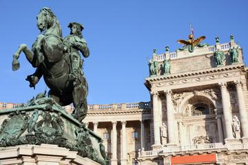 Prince Eugen of Savoy, Hofburg in Vienna, Austria