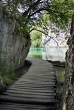 Beautiful landscape in Plitvice Lakes National Park, Croatia