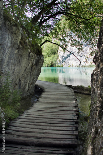 Beautiful landscape in Plitvice Lakes National Park, Croatia © Silvia Pascual