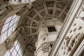 Château  et escalier 01
