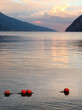 Evening scenery of The Lake Garda (Lago di Garda) Italy.