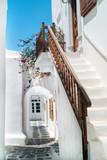 Fototapety Traditional greek house on Mykonos island, Greece