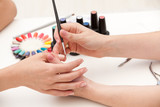 Process of nail polishing