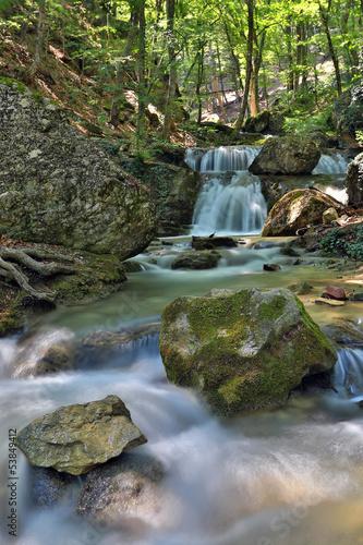 mountaim river - 53849412