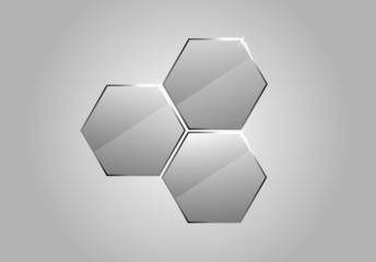 Vector glass honeycombs
