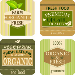 Fresh food labels