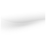 wavy dots abstract white background - 53851247