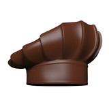 Chocolate chef hat