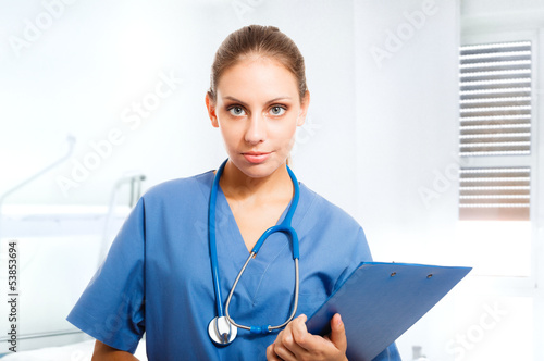 Portrait of a beautiful nurse
