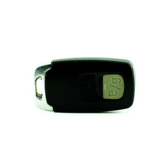 Car ignition key with remote control