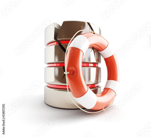 database is damaged, life buoy