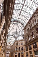 Italy. Naples. Gallery Umberto- century public gallery..