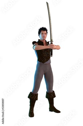 Krieger mit Schwert