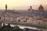 Florence skyline at sunrise, Italy