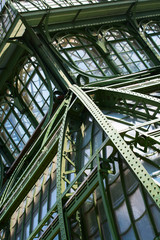 Big old greenhouse (Palmenhaus) in Vienna