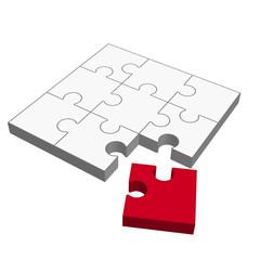 Puzzle 3D - passt nicht !