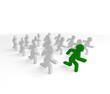 team, laufen, rennen, wettkampf,