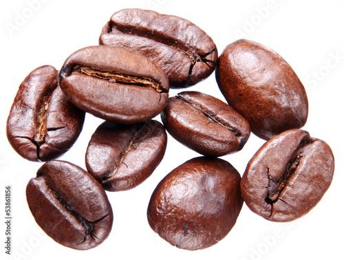 Coffee beans. - 53861856