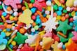 Multicolor sprinkles