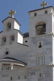 Orthodox church in Podgorica, Montenegro poster