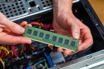 Ram data installation