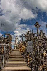 Maria statue at the hill of crosses
