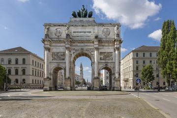 Das Siegestor in München