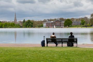 Amici in panchina, Hyde Park, Londra