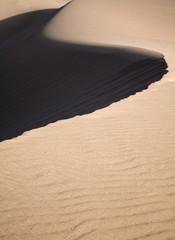 barkhan dune, evening light