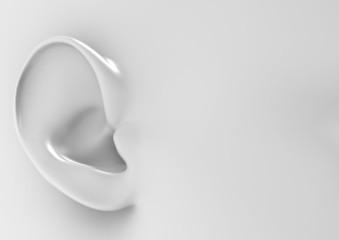Ear white