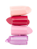 Cutted color lipsticks