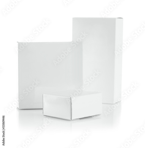 composition of white boxes