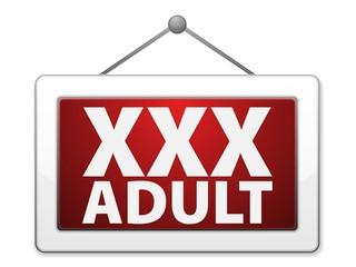 XXX Adult Label