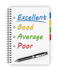 Satisfaction survey form