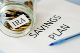 IRA savings plan poster