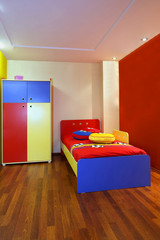Colorful child bedroom