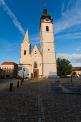 "Pisek church - ""Narozeni pany Marie"""