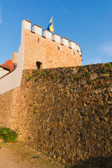 Pisek, the walls