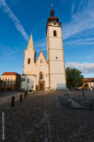 "Pisek church - ""Narozeni pany Marie"""