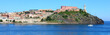 The Portoferraio on the island of Elba, Italy, Europe.