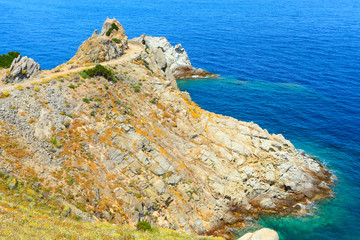 The Cape of Enfola. The Elba Island, Italy, Europe.