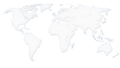 White worldmap