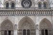 Notre-Dame, Hauptportal, Paris, Frankreich