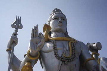 The biggest statue of Lord Shiva in the world