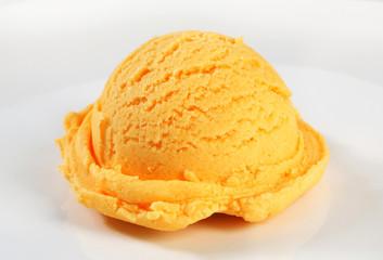 Orange sherbet