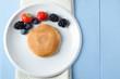 Fruit Pancake Breakfast Overhead