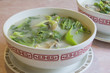 Fish Head Soup with Chinese Vegetable