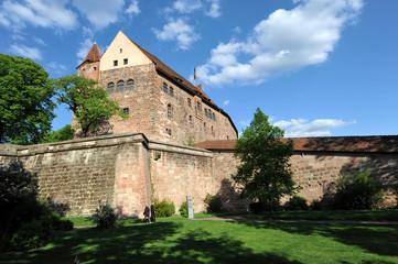 Nürnberger Burg, Palas auf der Kaiserburg, Bayern, Nürnberg
