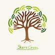 Green concept tree
