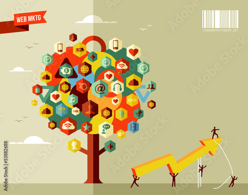 Marketing business tree